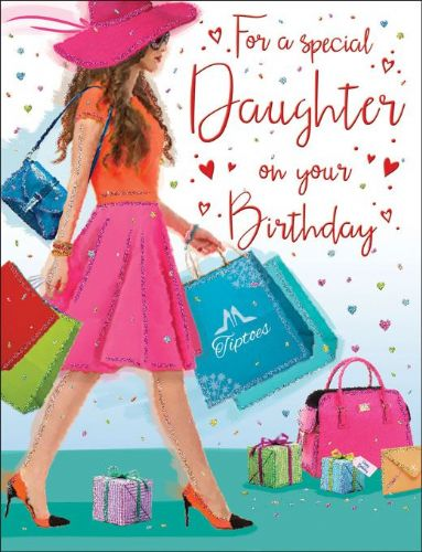 For A Special Daughter On Your Birthday Bags C80212